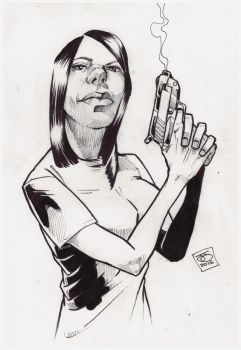 iamrachelj bond girl ink by jetdog-art