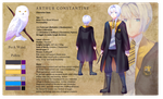 Pottermore: Arthur constantine by sowelunee