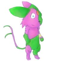Si the FrankenEspeon by FeralSonic