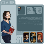 SftT: Claire by Girl-on-the-Moon