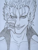 Grimmjow Sketch by BeckyHolly