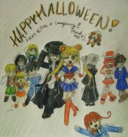 Happy Halloween- Contest by kira-chan20