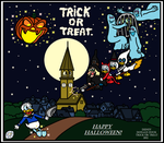 Happy Halloween - Trick or Treat (Disney 1952) by SpriteGirl