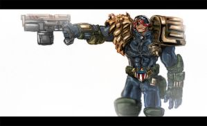 DSC Judge Dredd by PioPauloSantana