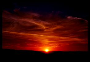 Red Skies by ClownsCuriosity