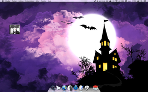 Halloween desktop by merlino24