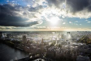 Westminster From London Eye! by jay4everuk