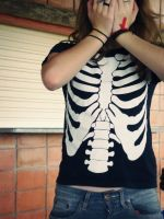 skeleton, you are my friend by kiipi