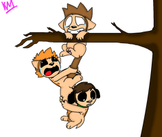 Hang in There Babies by KittyMelodies