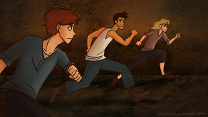 The Runners by solarseptum