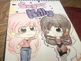 Sugar and Kelly by kitty-chan2