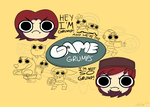 Game Grumps by heylookstuff