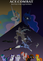Ace Combat - Battle for Equestria poster by lonewolf3878