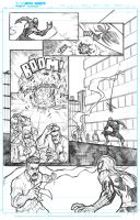 Superior Spiderman practice page two by JoeyVazquez