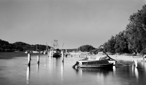 Boats and Water by photomark