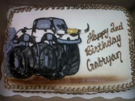 Cowboy Monster Truck by AingelCakes
