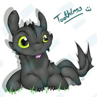 Toothless by 7Tuchi