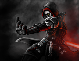Sith Warrior by Jmcdon