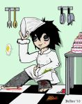 L as a Cook by EDO-KUNANDJOJO-SAN