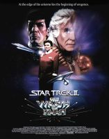 STAR TREK 2 THE WRATH OF KHAN POSTER by tanman1