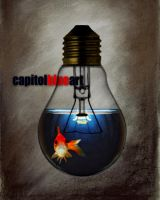 fishbulb by capitolblueart