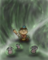 Little Teemo by TheDracoJayProduct