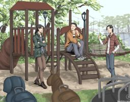 Commission: Playground by laurbits