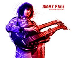 Jimmy Page by GarciaCruz
