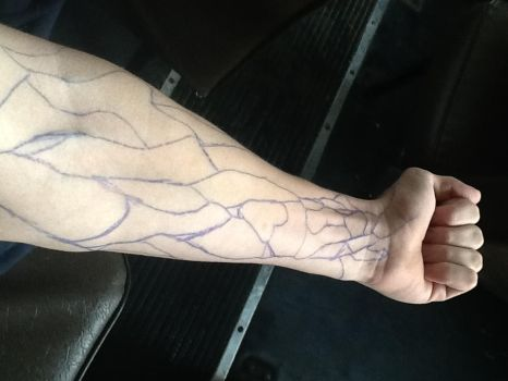 Vein Tracing by SuicuneLuver