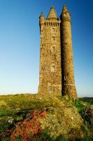 Scrabo Tower after Sunrise II by Gerard1972