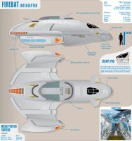 Firebat Interceptor Star Trek by atomik99