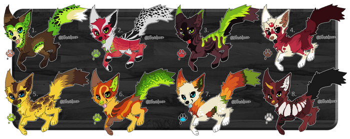 Fruit Canine Designs CLOSED by Hohtis