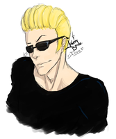 Johnny Bravo by imMoxe