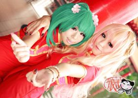 Macross Frontier - Nyan Nyan Ranka Sheryl by Xeno-Photography