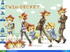 my yami and yugi desktop by yamicute