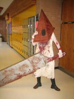 Otafest - Pyramid Head Cos by cowzorz
