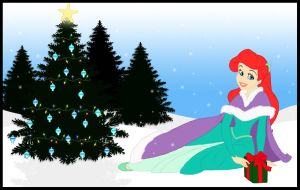 Ariel's First Winter by CeruleanLegacy
