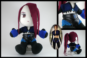 Custom NWN plushie by eitanya