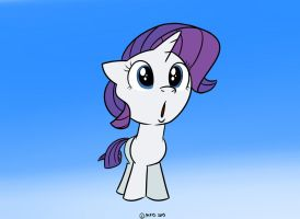Filly Rarity by MysteryFanBoy718
