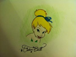Tinkerbell by mlpdisney