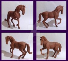 Horse scuplture by h0wr