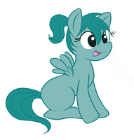 my OC filly by do-it-yourself