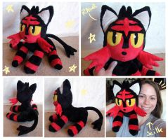 Pokemon gen 7 Litten plush
