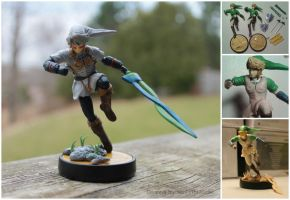 Fierce Deity Link Custom Amiibo Figure by PixelCollie