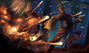 Jinx, assalto a banco by rickrick