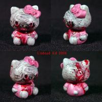 Zombie Hello Kitty BRAINS ooak by Undead-Art