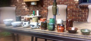 Ceramics I: Spring 2015 (View 2) by AngelLux13