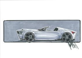 Concept Muscle Cabrio by talhakabasakal