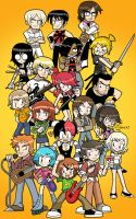 Scott Pilgrim vs. the World by SandikaRakhim