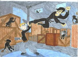 Ron vs. Monkey Fist by DrakebyRS
